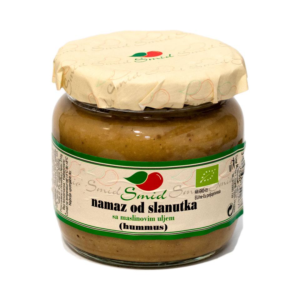 Namaz od slanutka s maslinovim uljem