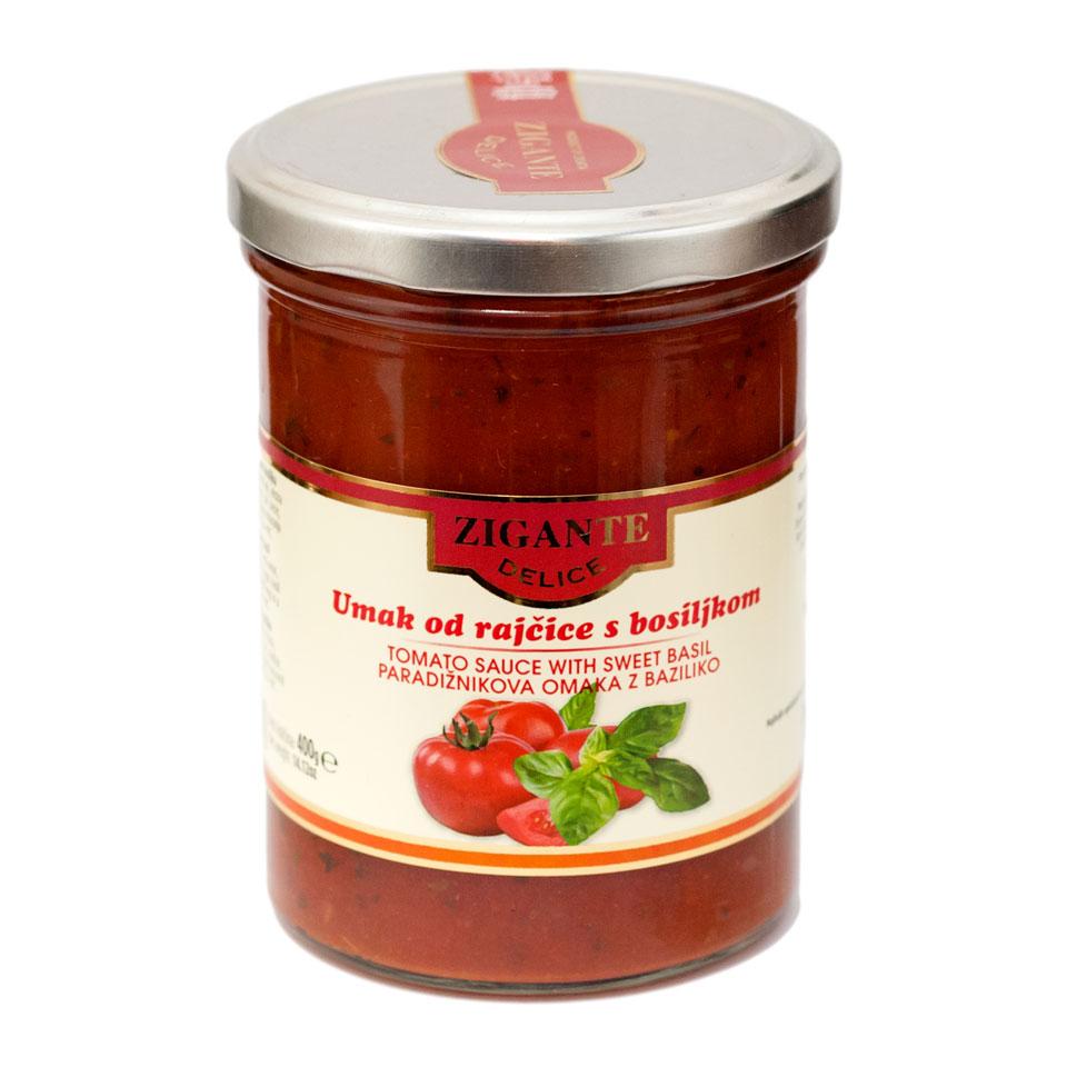 Umak rajčice i bosiljka