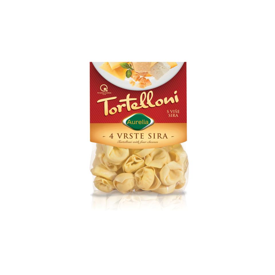 Tortelloni četiri vrste sira