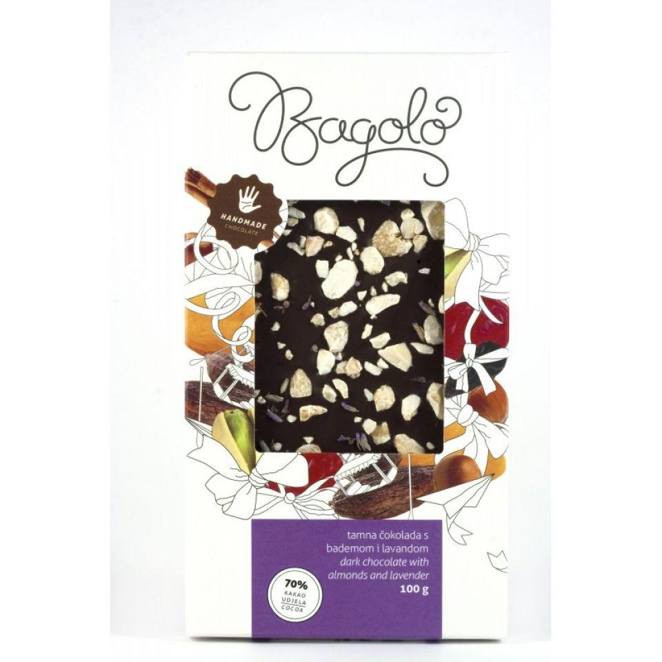 Čokolada lavanda badem