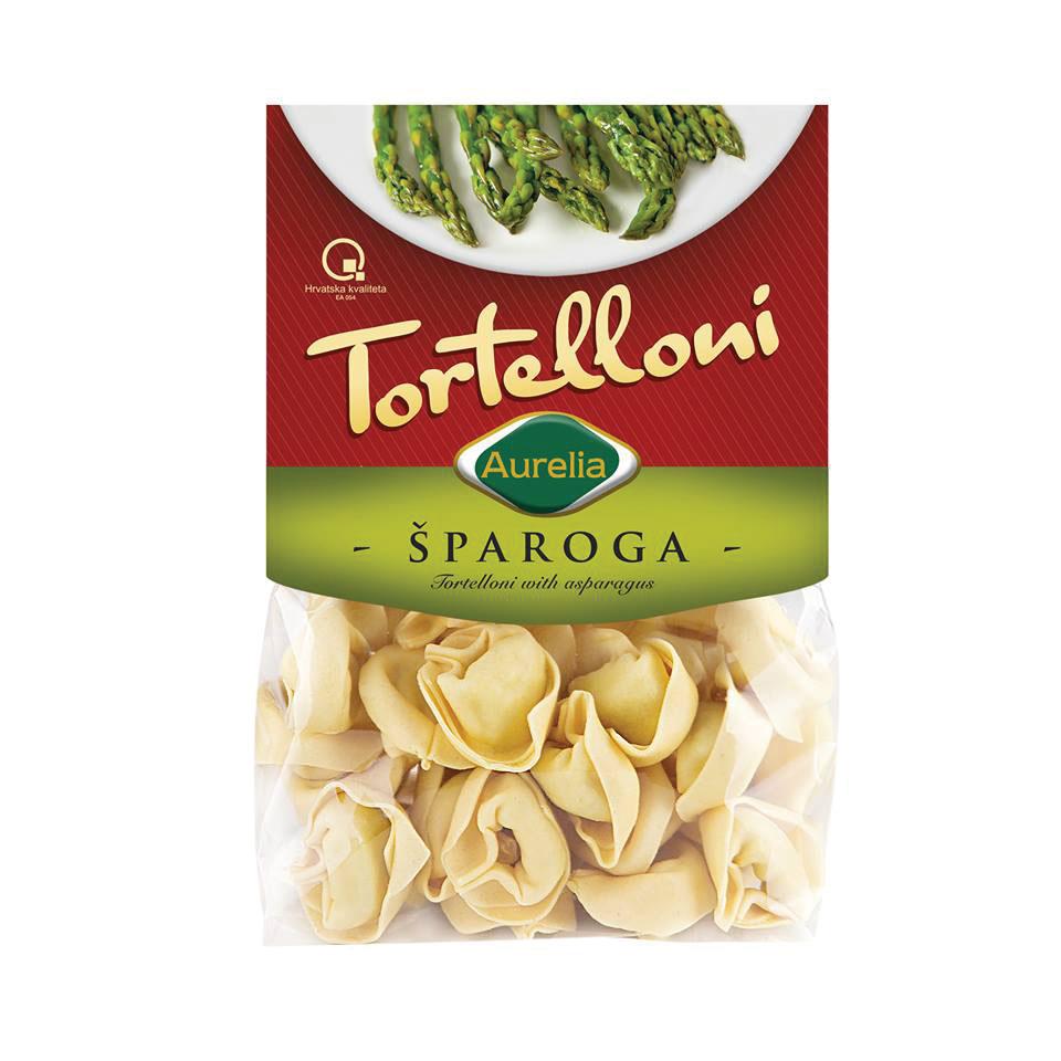 Tortelloni šparoga
