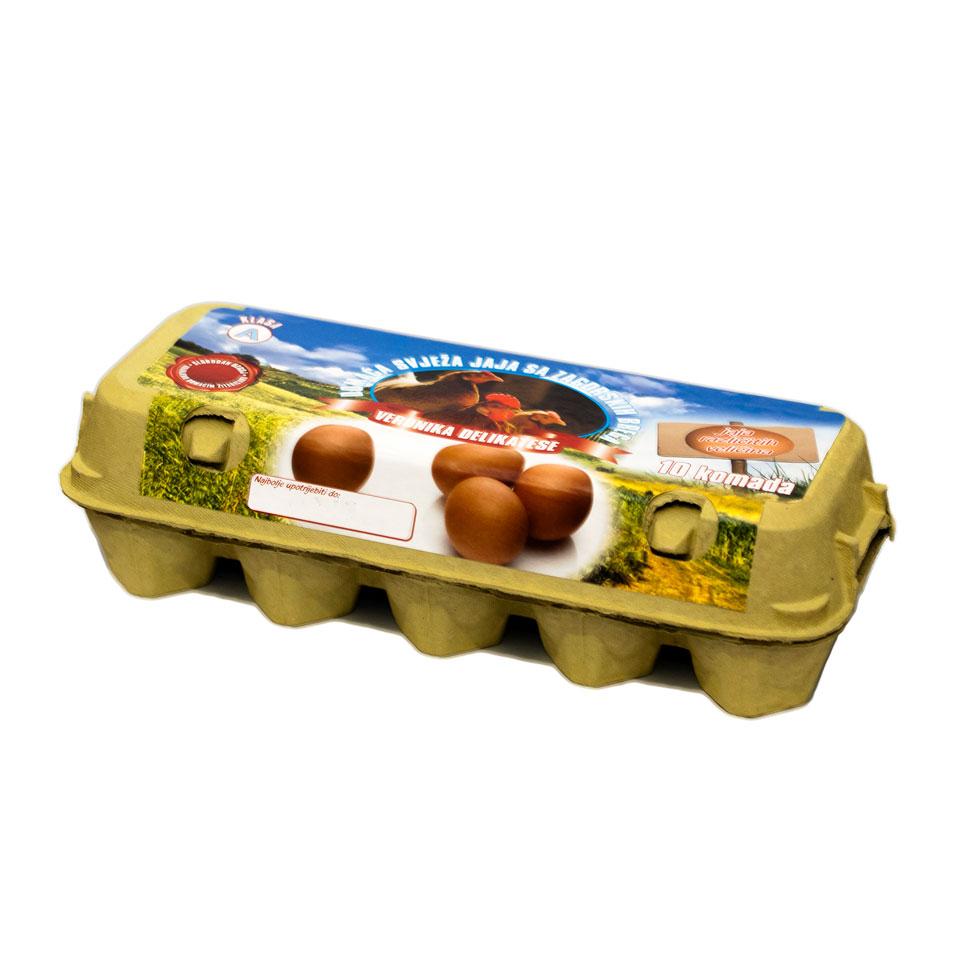 Jaja domaća 10/1 slobodni uzgoj
