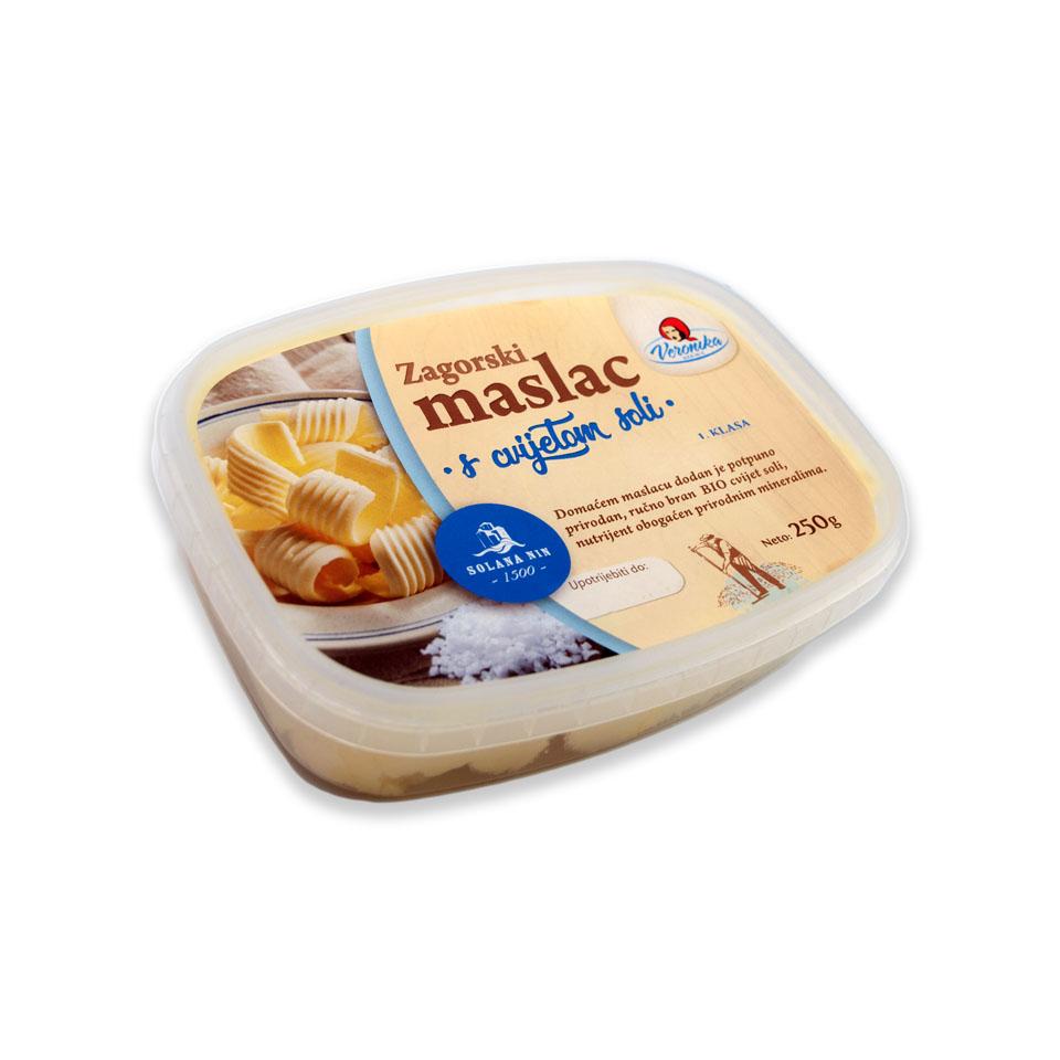 Maslac s cvijetom soli 0.25kg