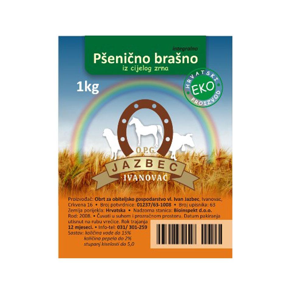 Pšenično brašno integralno cijelo zrno
