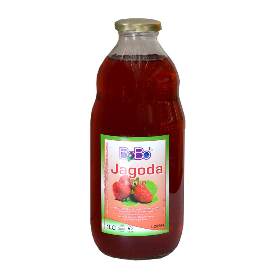 Sirup jagoda