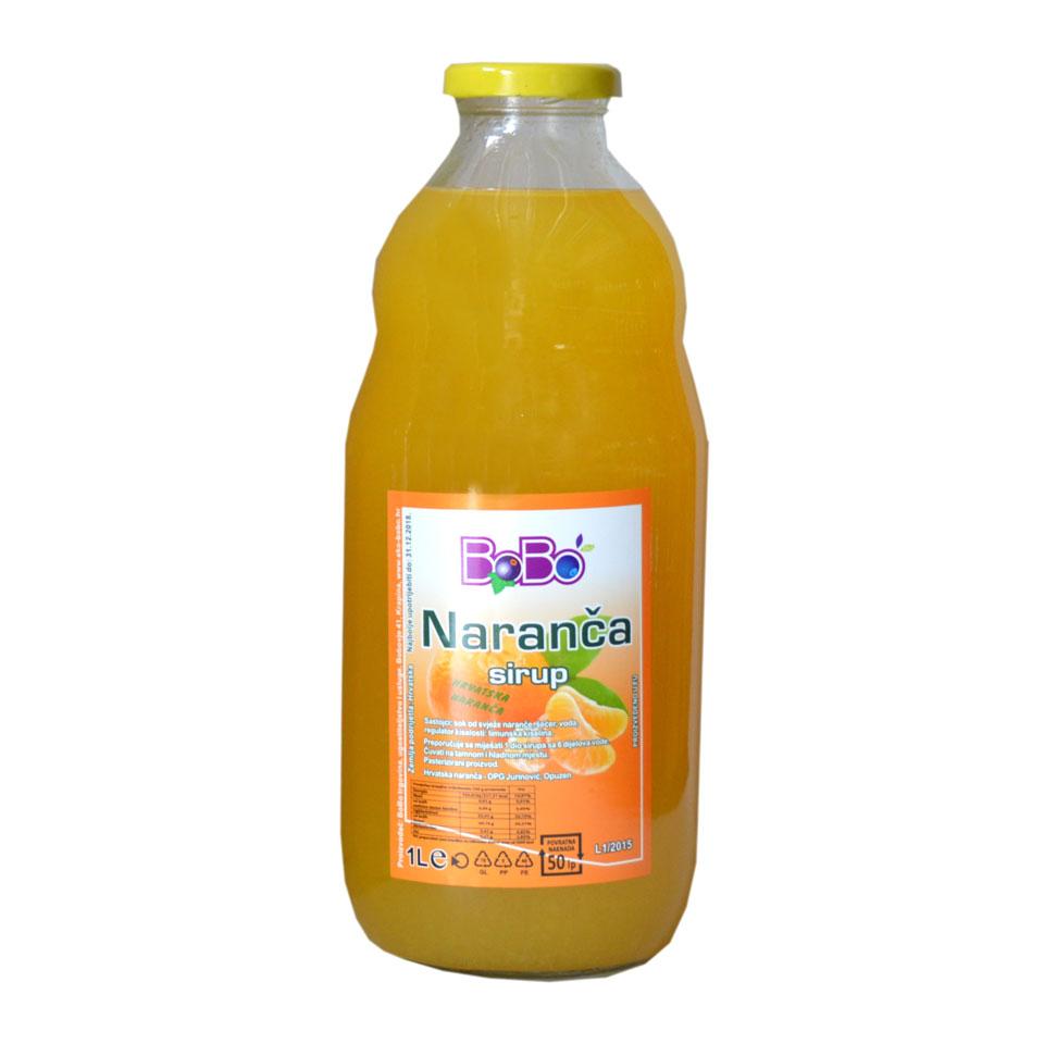 Sirup naranča