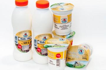 Ista kvaliteta u novom ruhu - Slatko vrhnje Mini mljekara Veronika