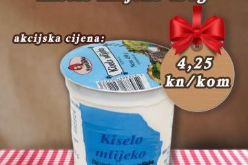 Akcija tjedna - Kiselo mlijeko 450g