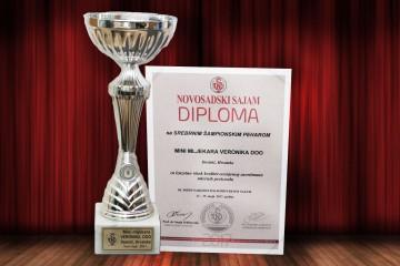 Osvojene medalje Mini mljekare Veronika u Novom Sadu